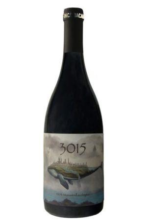 3015 es un vino de Jumilla ecológico de uva monastrell