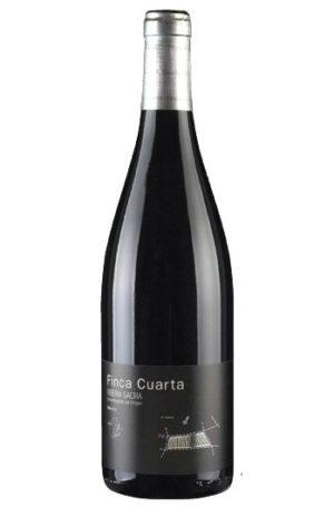 botella de vino finca cuarta mencía de ribeira sacra