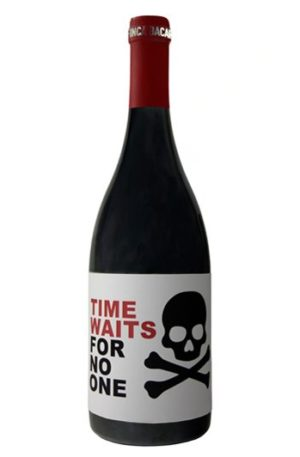 Times Waits for no one es un vino de Jumilla de uva monastrell
