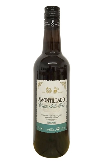 Amontillado Cruz del mar vino fino
