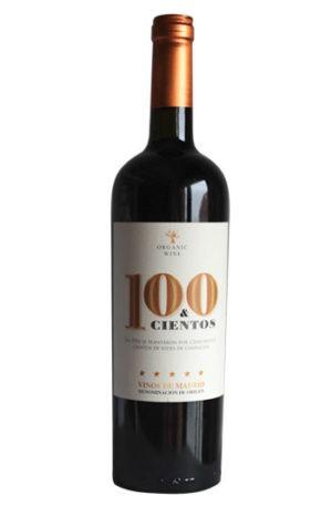 100&cientos es un vino ecológico de Madrid