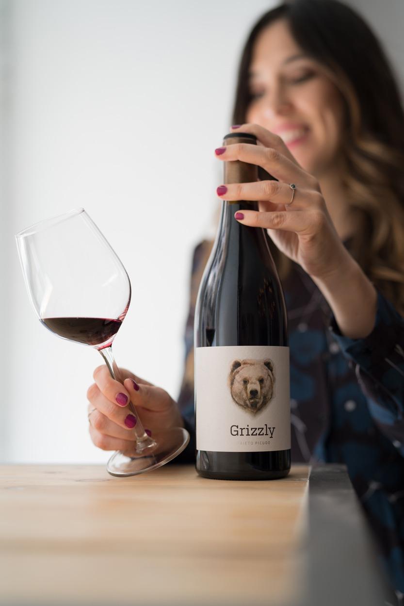 vino Grizzly de distribución Bodegabierta en Madrid