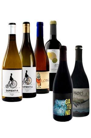 pack ecológico 6 botellas de vino