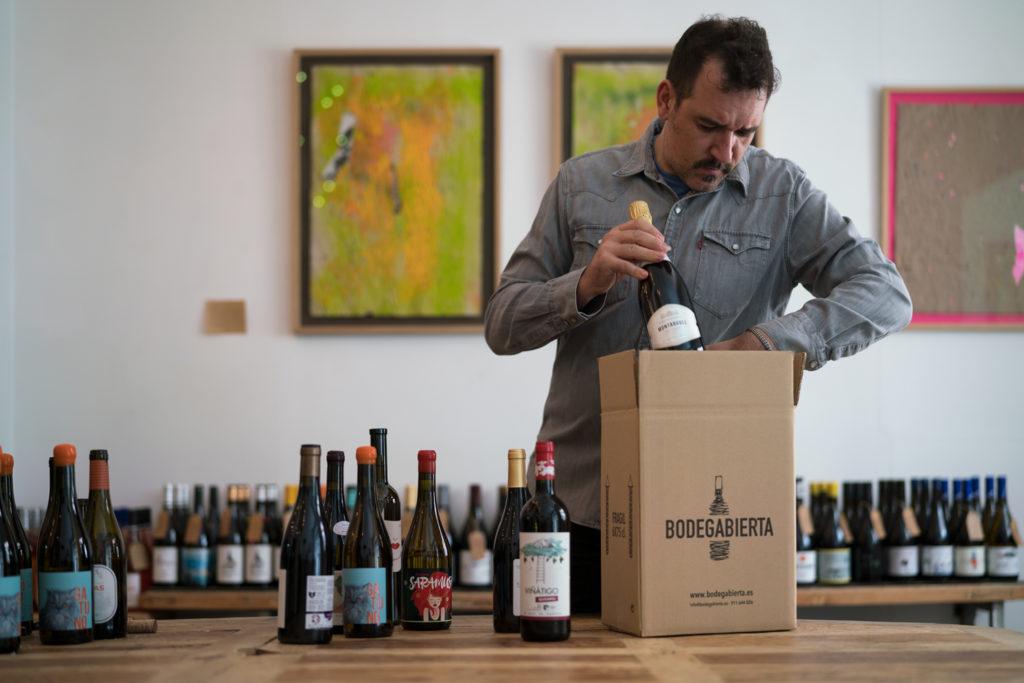 envío vino tienda online pequeños productores