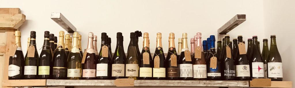 lineal de vinos espumosos bodegabierta