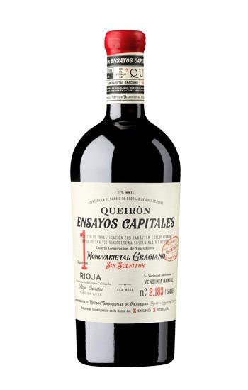 Queirón Ensayos Capitales es un vino natural de Rioja